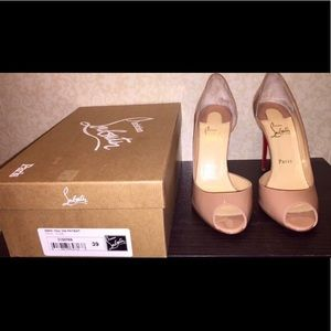 Christian Louboutin Demi You Nude Size 39